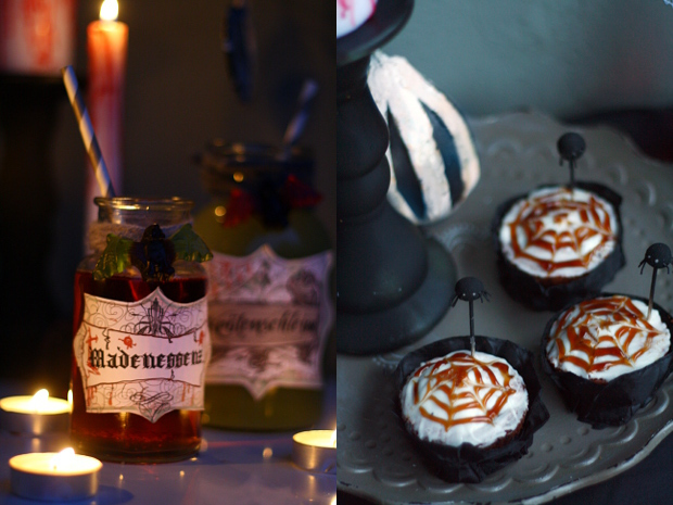 Spinnen-Muffins, Horrordrinks & Blutkerzen – Halloween-Special #2