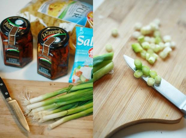Nudelsalat Mit Feta Und Getrockneten Tomaten Mein Feenstaub