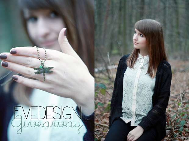 Dragonfly Necklace {Giveaway}