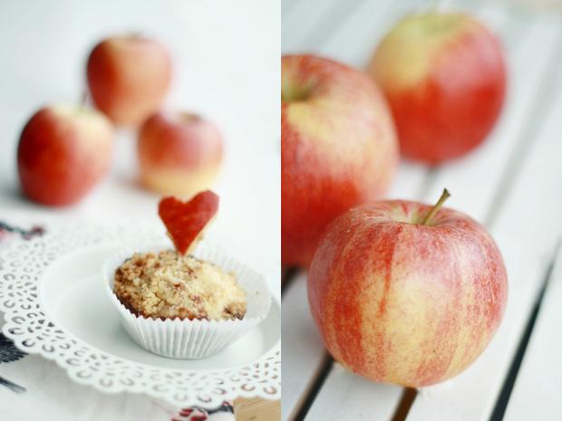 Rezept: Apfel-Streusel-Muffins