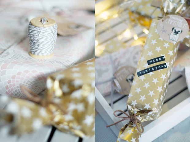 DIY: Wrapping Paper & free Printables for Gifttags