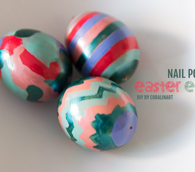 DIY: Nail polish easter eggs {guestpost by coralinart}