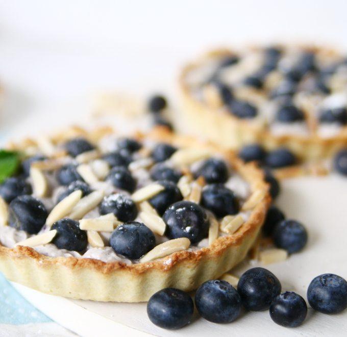 {Food-Challenge} Blaubeere, Zitrone & Mandeln werden zu Mini-Tartes