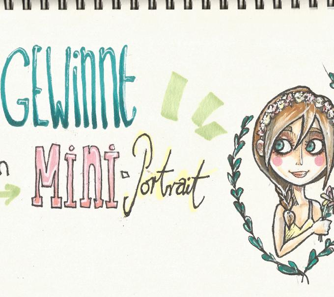 {Giveaway} Gewinnt ein Mini-Portrait – von mir nur für euch gezeichnet!