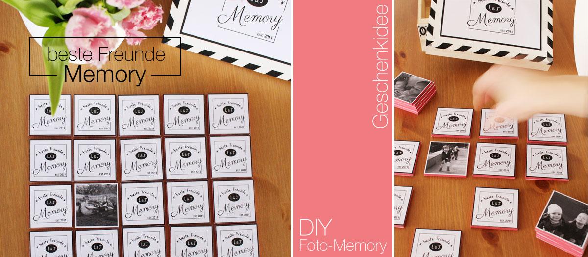 gastpost diy anleitung f r ein beste freunde foto memory mein feenstaub. Black Bedroom Furniture Sets. Home Design Ideas