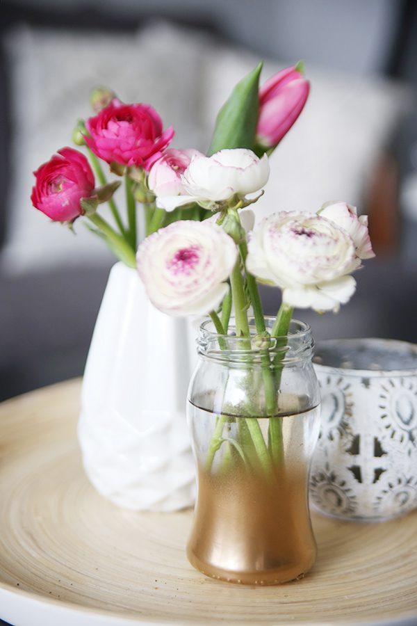 {DIY} Marmeladenglas-Vase