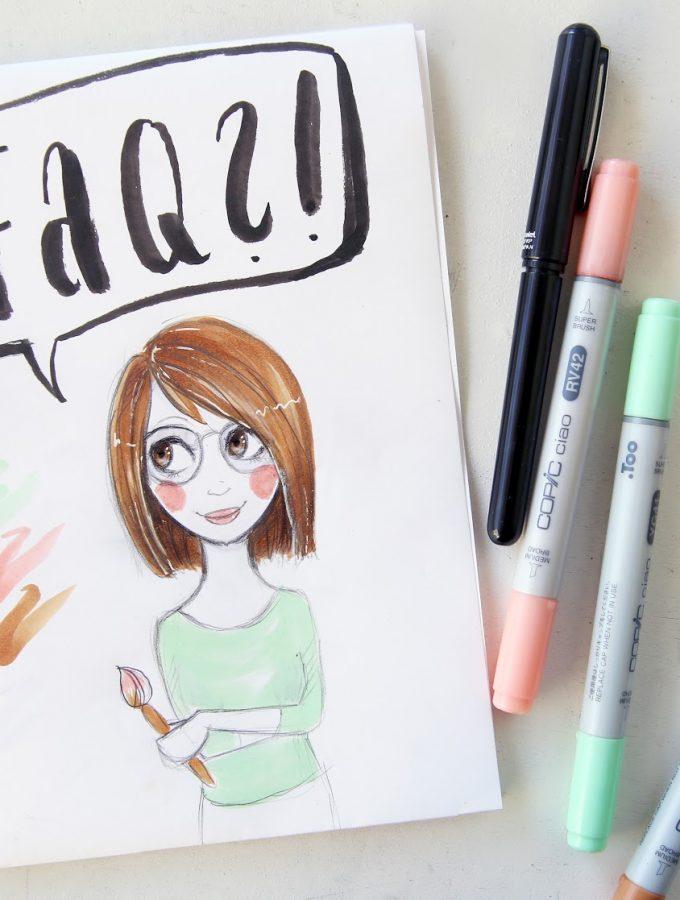 {FAQ} Eure Fragen zum Zeichnen