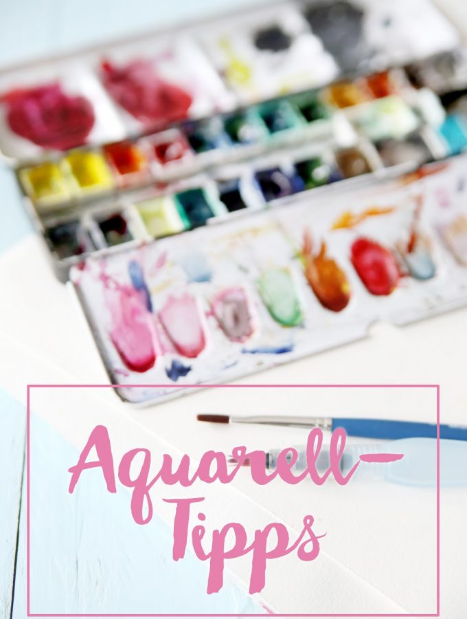 {Drawing} Meine Aquarell-Tipps