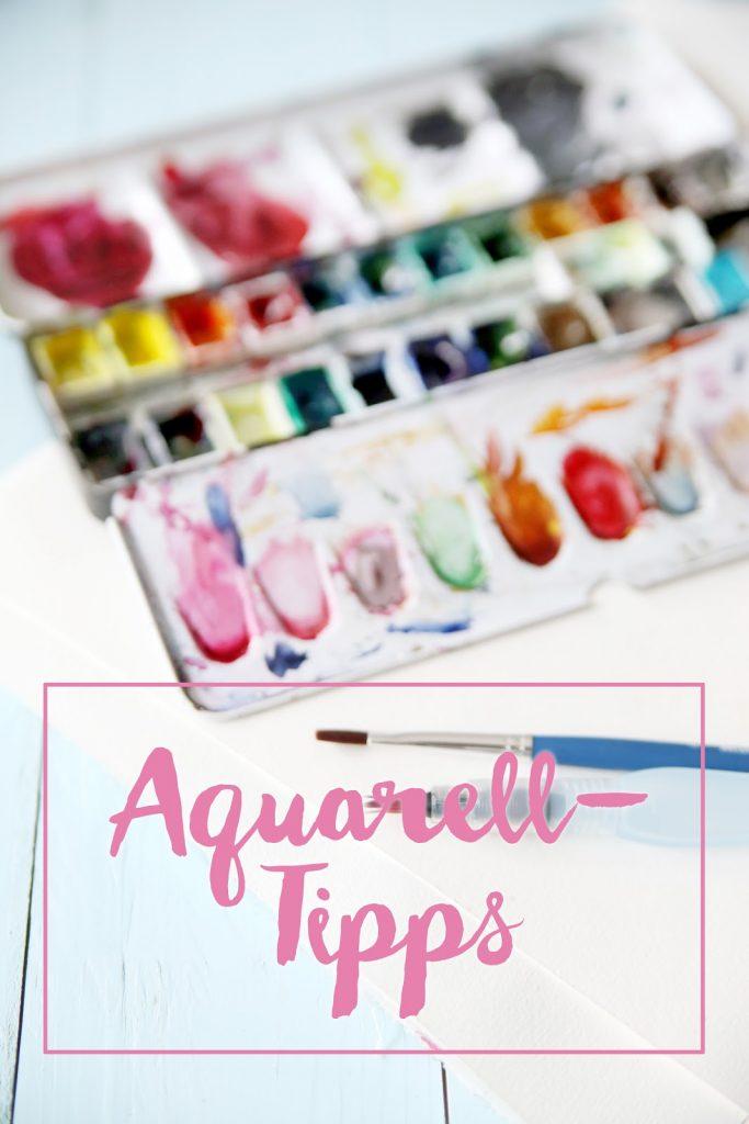 Drawing Meine Aquarell Tipps Mein Feenstaub