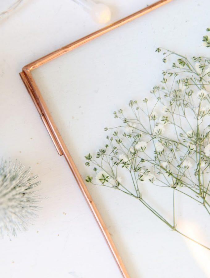 {DIY} Blumenpresse selbstgemacht