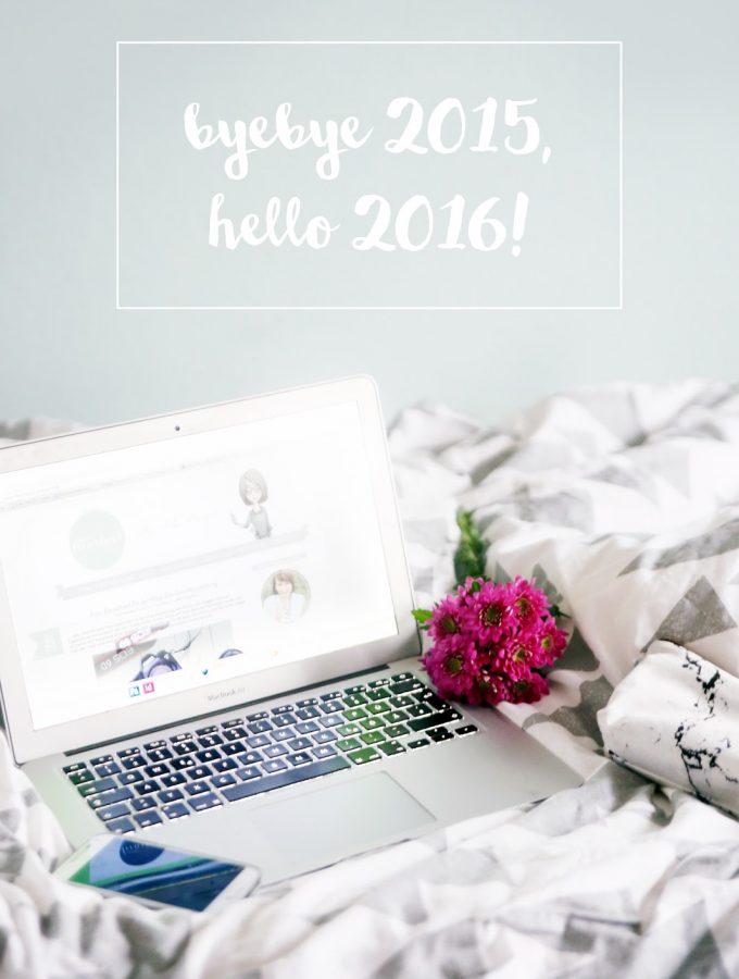 Byebye 2015, hello 2016! {mein Jahresrückblick}