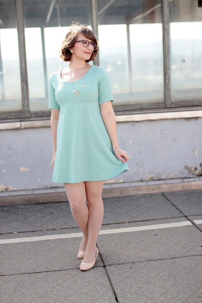 DIY your Closet #5} Mein Babydoll-Kleid | mein feenstaub