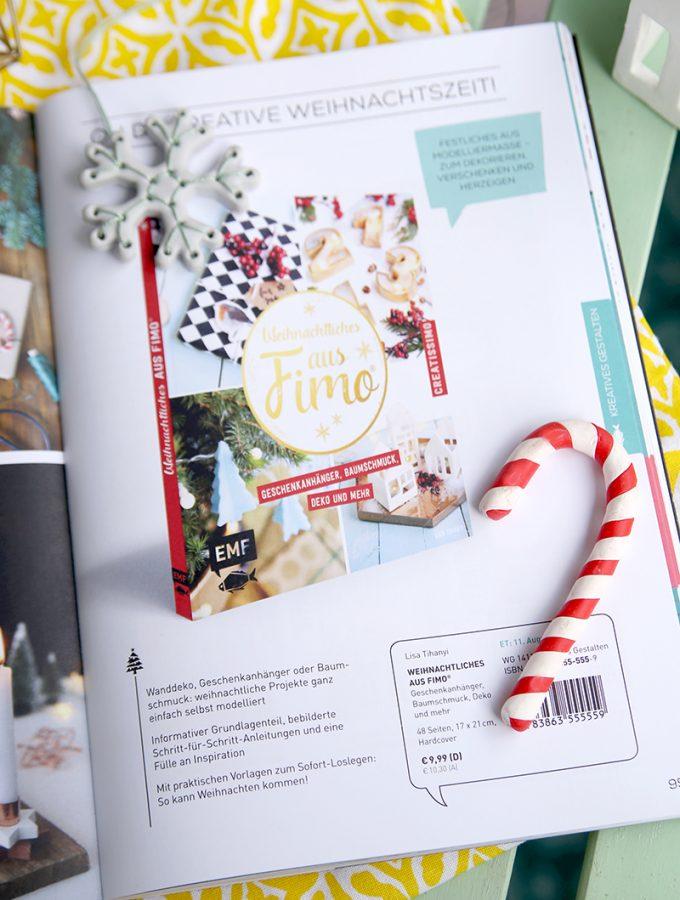 {Vorbestellen: Mein 2. DIY-Buch} Weihnachtliches aus Fimo