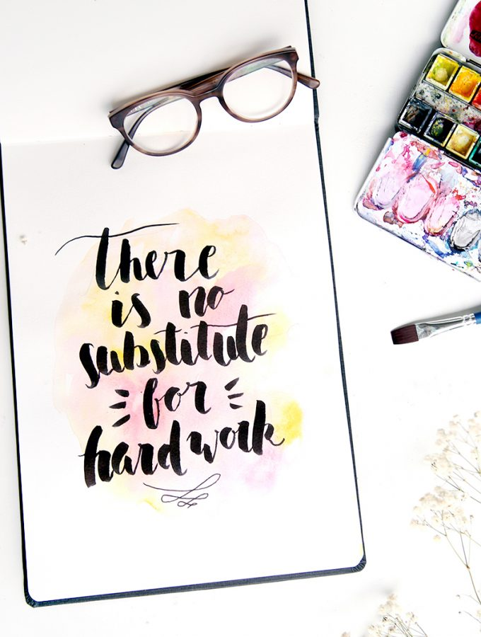 Über Talent und harte Arbeit