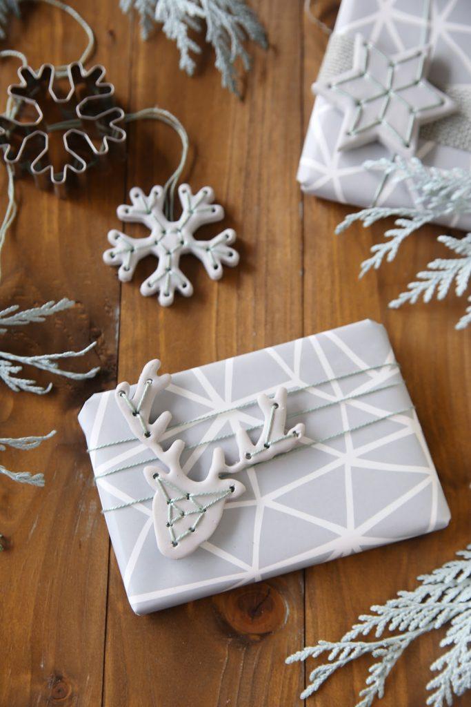Diy Weihnachtliche Geschenk Anhänger Aus Fimo Giveaway