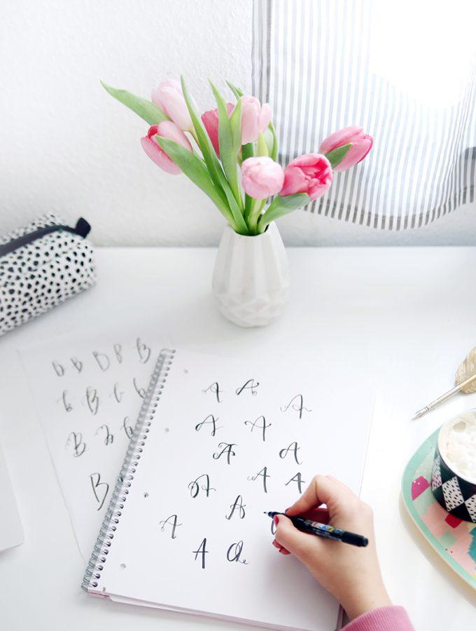 {Handlettering} Tipp: Lettering-Alphabet