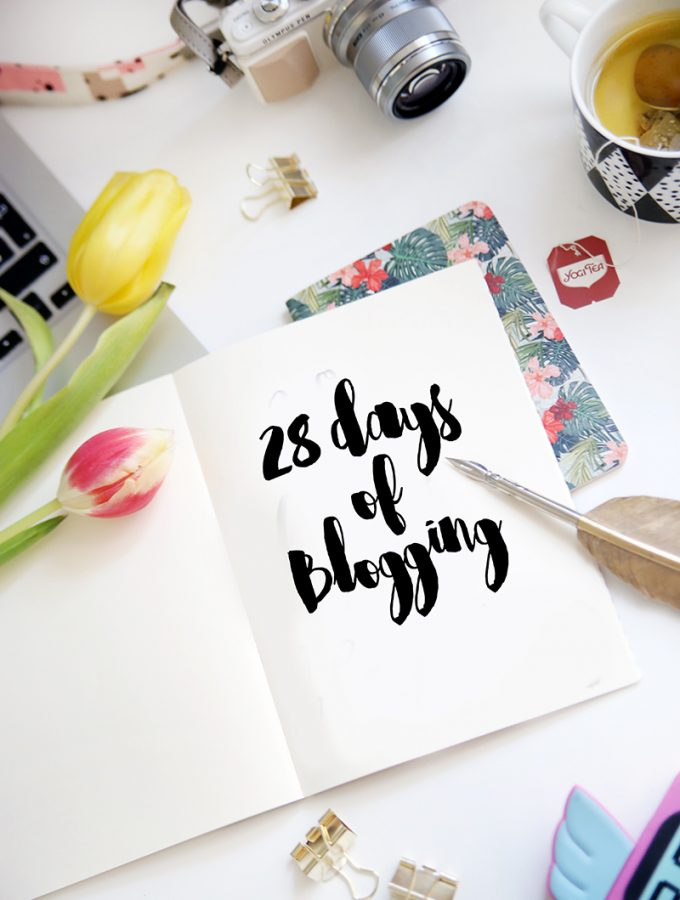 {28 Days of Blogging} Es geht los!