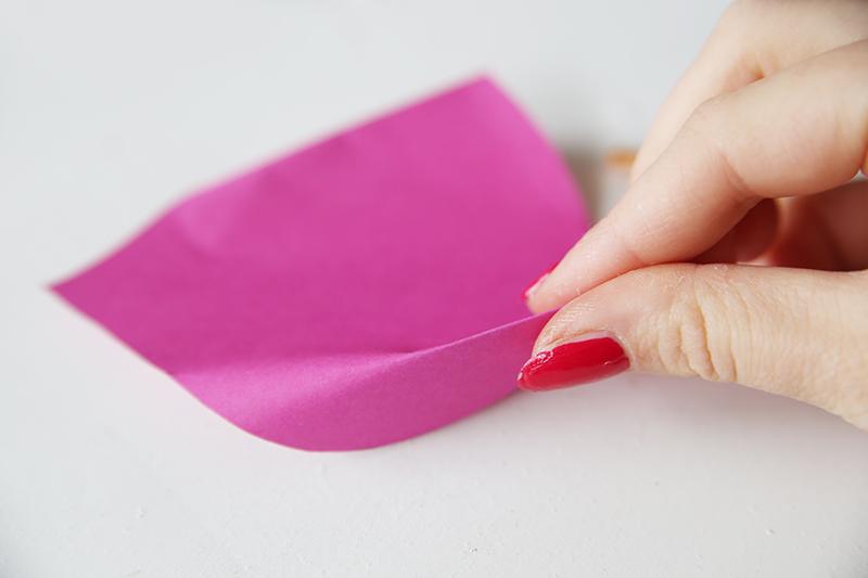 DIY-Calla Blume aus Papier ganz einfach selbermachen
