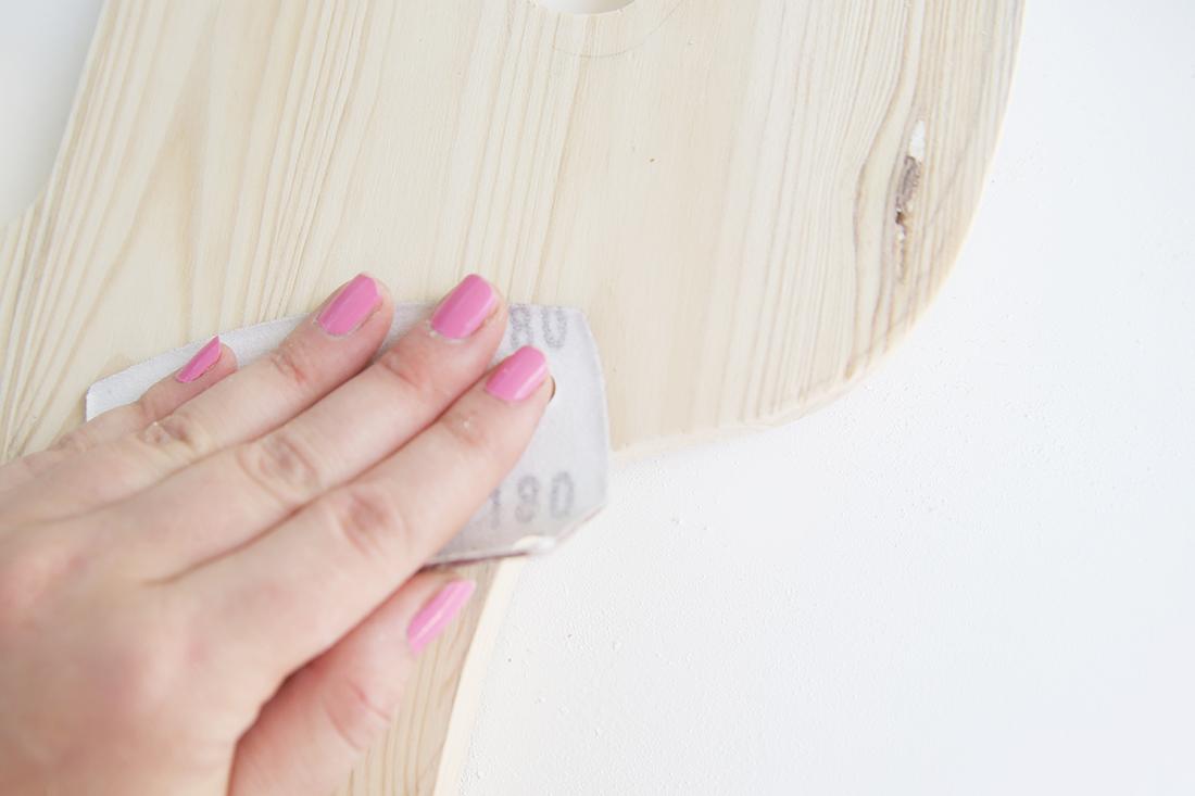 DIY-Kaktus-Lampe aus Holz selbermachen