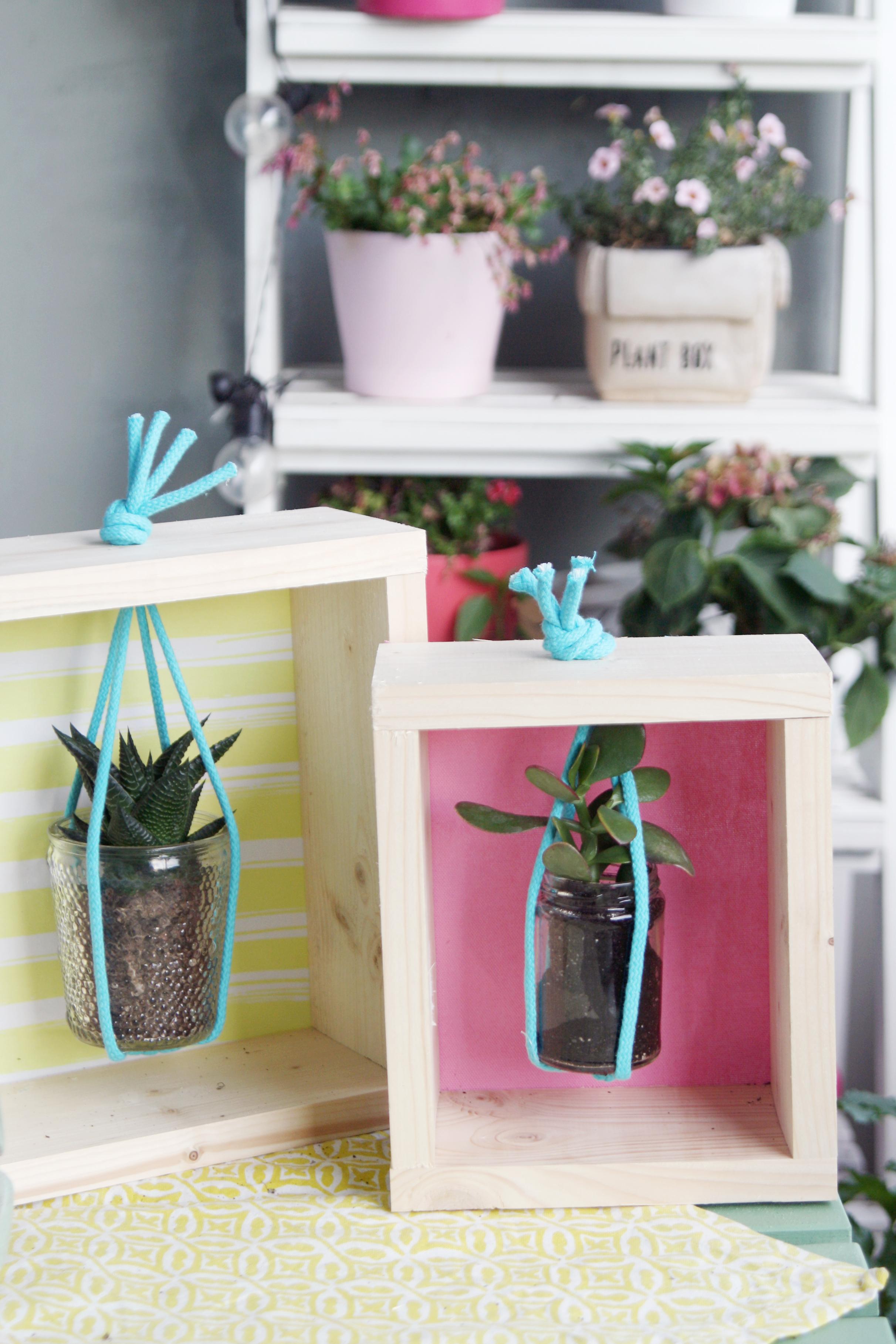 diy pflanzenrahmen einfach selbermachen. Black Bedroom Furniture Sets. Home Design Ideas