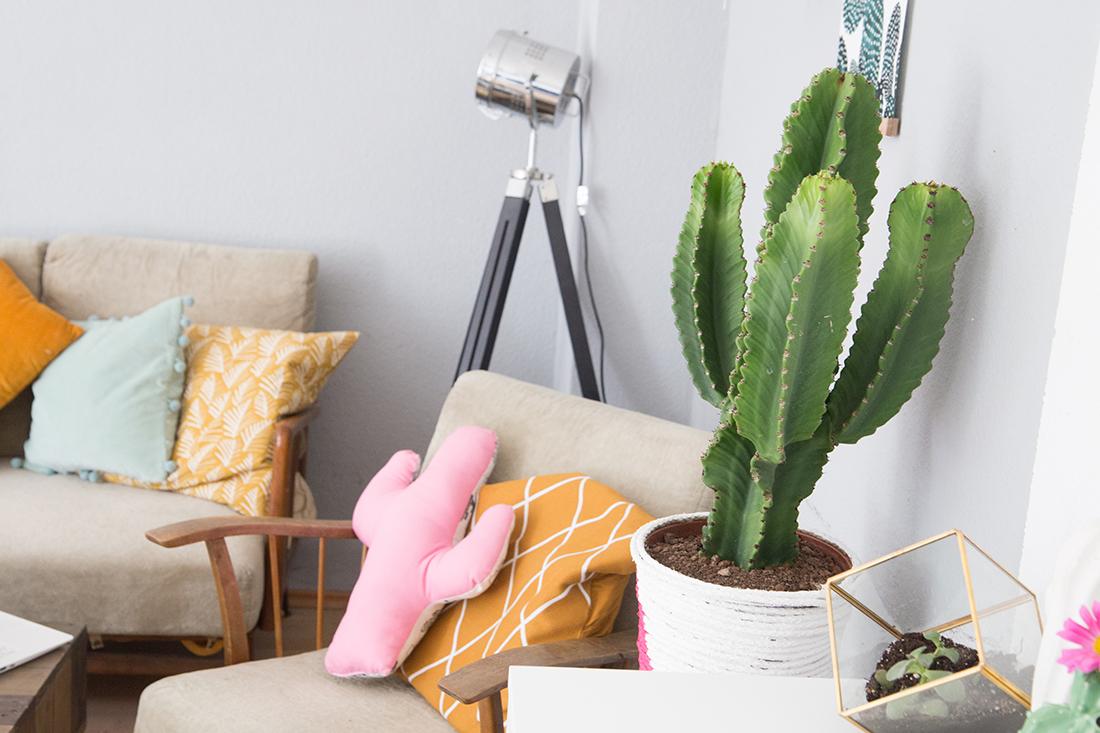 Wohnzimmer Umstyling mit viel DIY Deko   mein feenstaub
