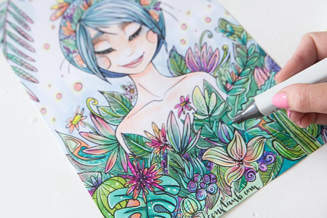 zeichnen-malen-ausmalbilder-erwachsene-diy-blog (11) | mein feenstaub