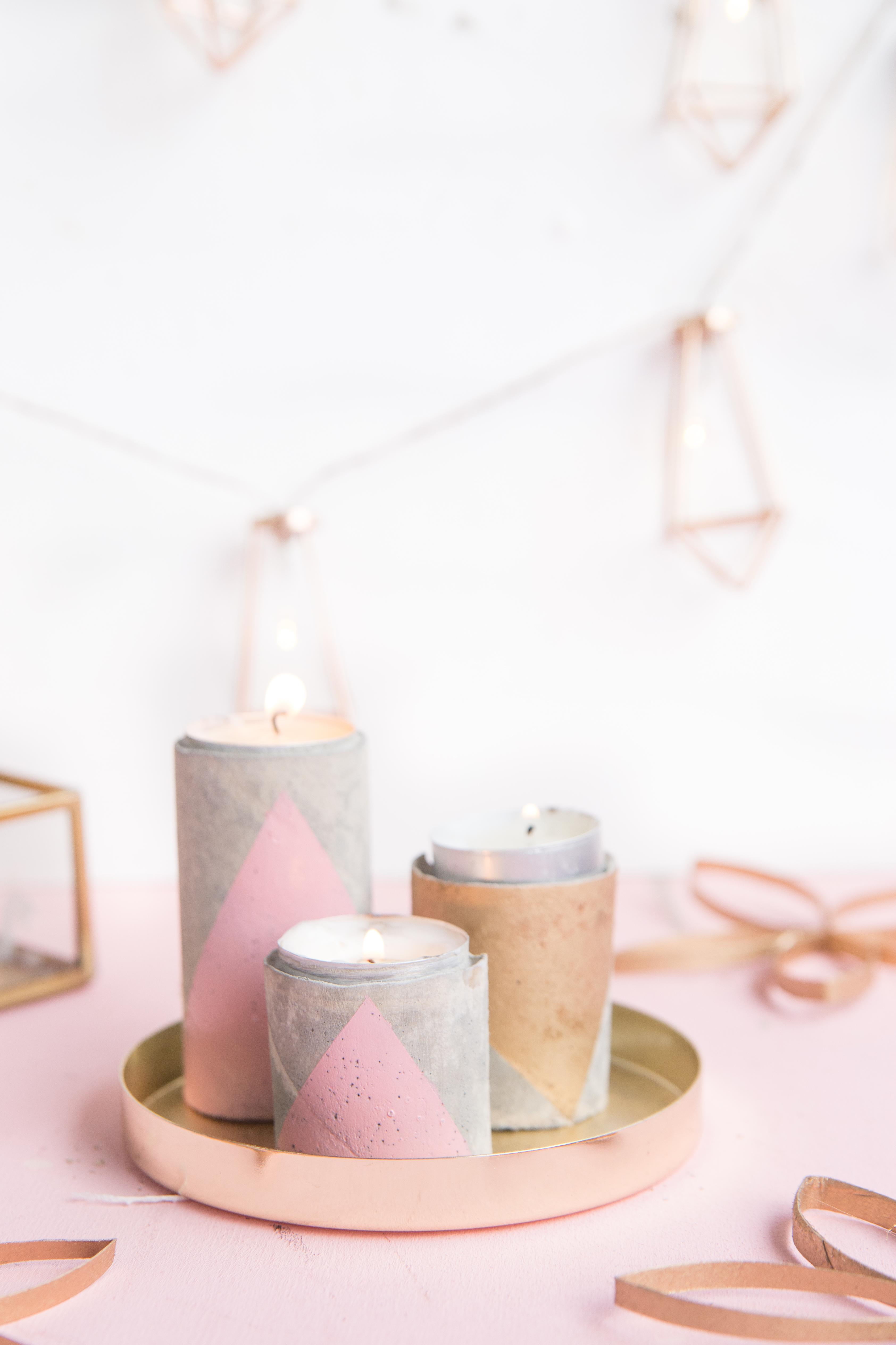 Schön Kerzenhalter Beton Design
