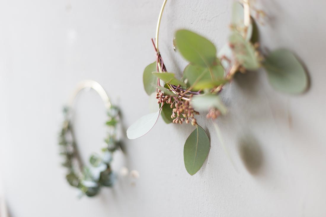 kranz selber machen amazing eukalyptus kranz diy with. Black Bedroom Furniture Sets. Home Design Ideas