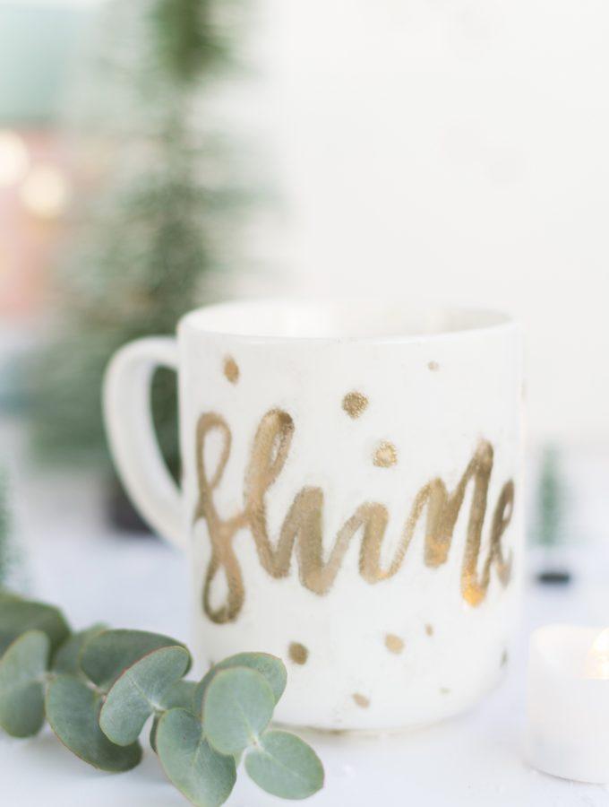 DIY Embossing Tasse | Cuchikind Adventskalender