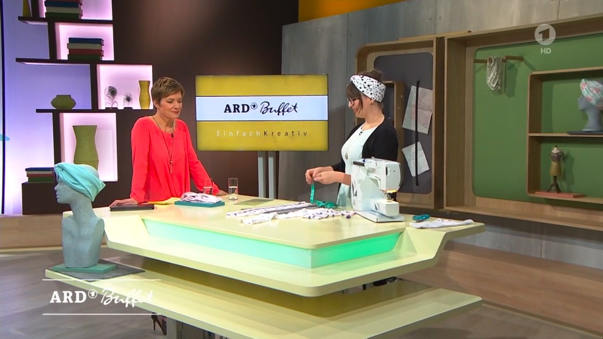 DIY: Turban-Stirnband nähen   ARD-Buffet   mein feenstaub