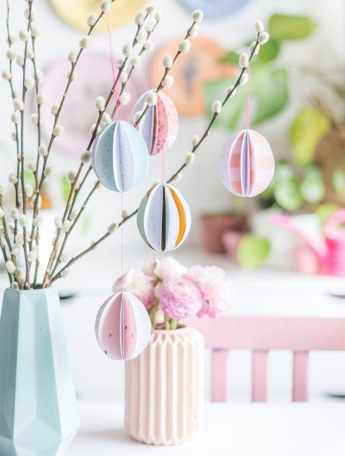 DIY: Papier-Eier als Osterdeko | ARD- Buffet am 28. März