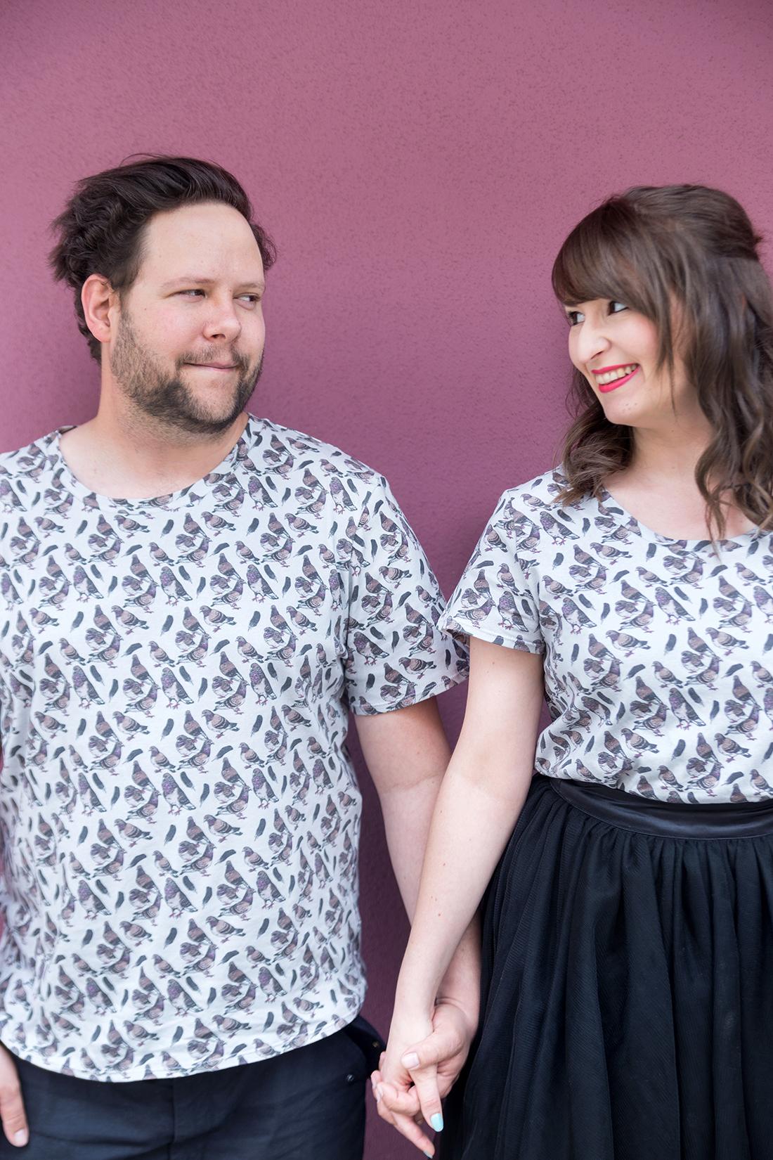 swag Tauben-Shirts im Partnerlook | mein feenstaub