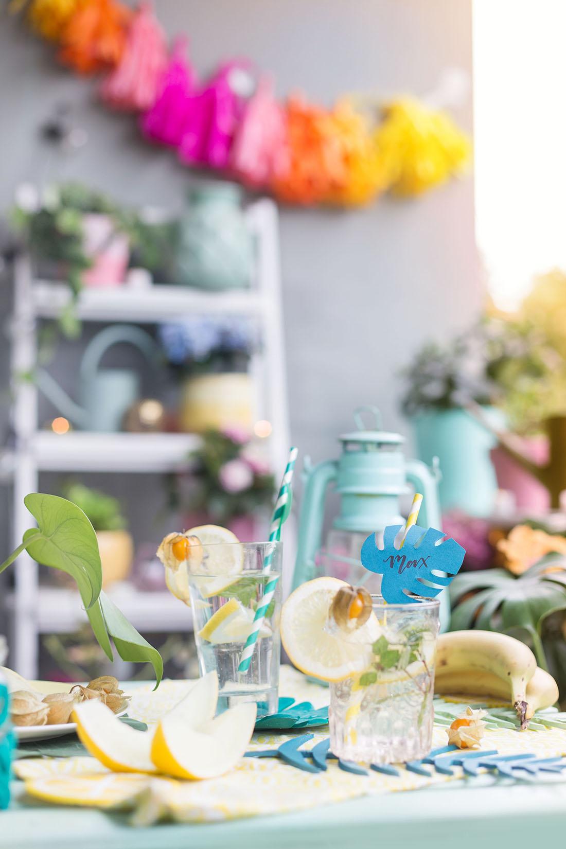 3 DIY-Ideen für deine Balkonparty mit Südsee-Vibes | mit DIY Vorlage ...