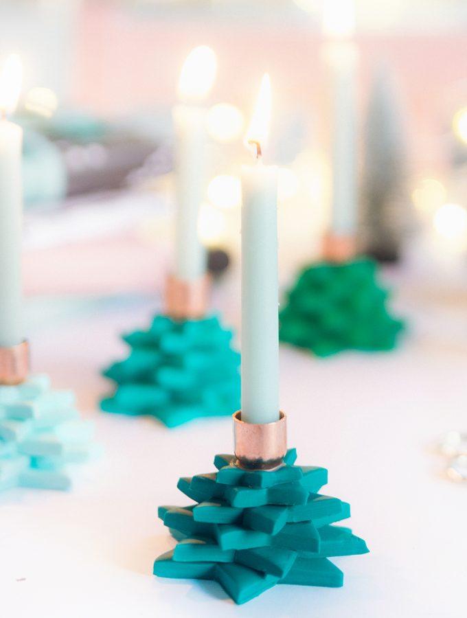 DIY: Sternen-Kerzenhalter aus FIMO | ARD-Buffet
