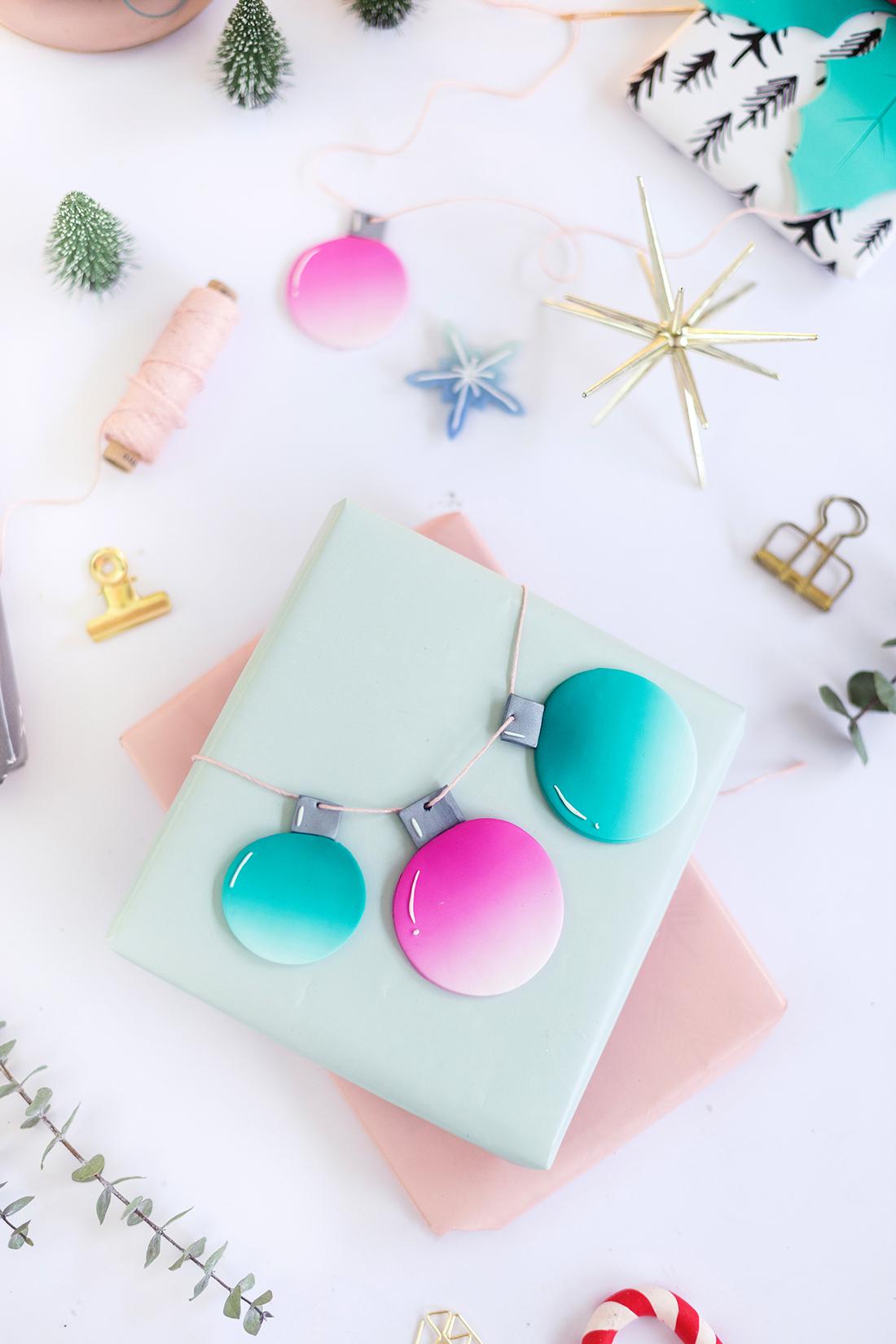 9 DIY-Geschenkanhänger aus FIMO & große FIMO-Weihnachts-Challenge
