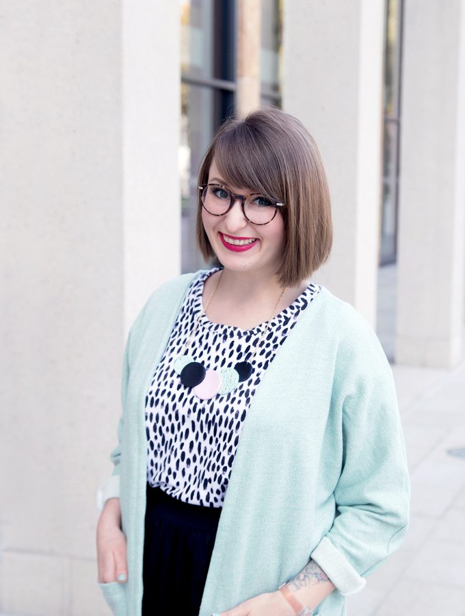 DIY Kimono-Cardigan nähen & großes Gewinnspiel mit Makerist