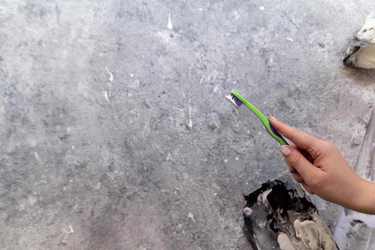 DIY Beton-Fotountergrund selbermachen | mein feenstaub