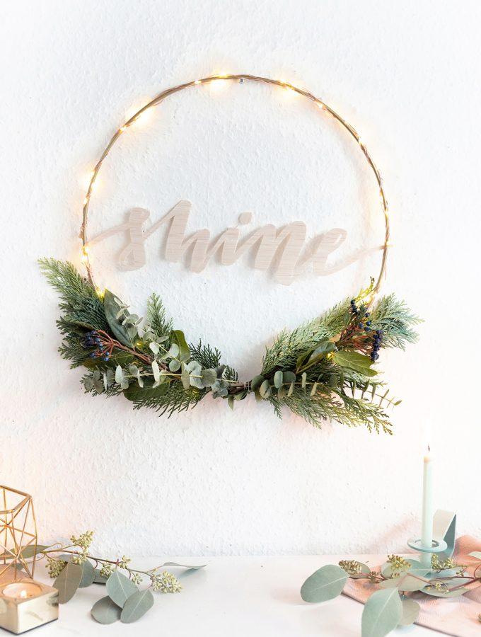 DIY-Kranz-Lichterkette-basteln-Weihnachtsdeko-Tchibo-40
